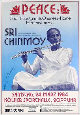 1984 cologne-srichinmoy-poster-w