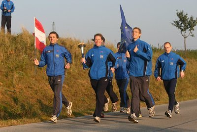 Word Harmony Run in Austria '06