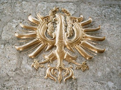 ancient emblems like the Austrian Eagle