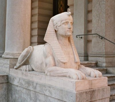 as well as the Egyptian sphinx