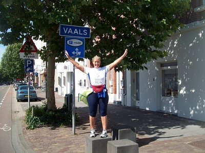 End of Vaals, Netherlands