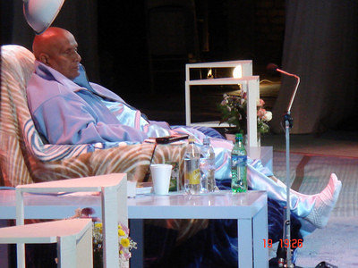 Sri Chinmoy at last Concert in Russia, September 2007