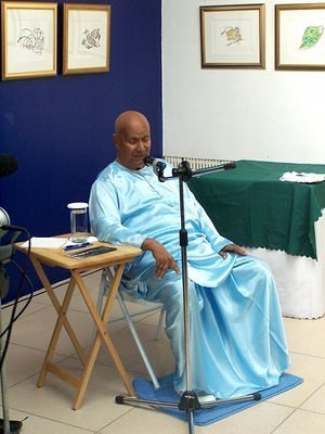 Sri Chinmoy in Mongolia
