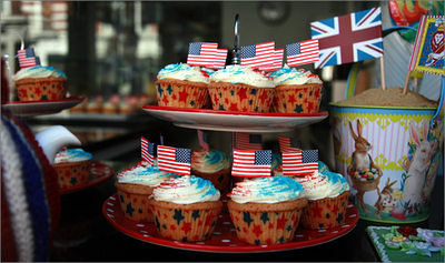 cupcakes on the 4th July
