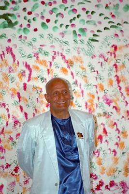 Sri Chinmoy in New York, April 1993: Portraits, Scanned from Film