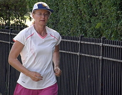 Surasa runs 2760 miles in the 2010 3100 Mile Race