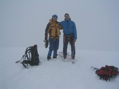 The summit photo on Pisco 5752m