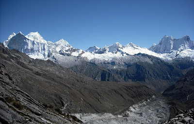 And the North Range of the Cordillera Blanca