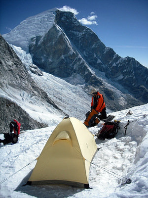 Our High Camp location