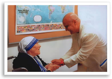 Sri Chinmoy and Mother Teresa