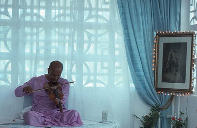 Sri Chinmoy plays Violin early 1970s
