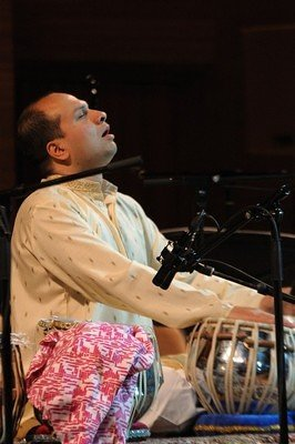 The tabla Maestro Anil