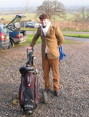 Golf in Oxford, December 2004