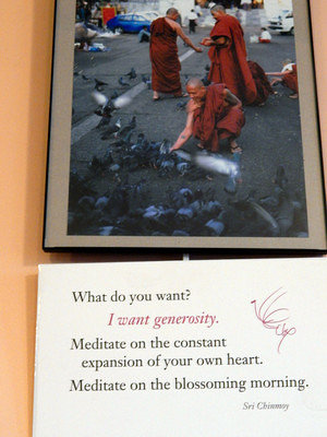 Meditate On Exhibit - Hall Library, RI