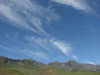 South African skies