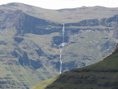 A spectacular waterfall