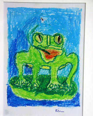 """Every sister is a frog"" by Kieran"