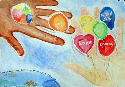 Paintings of Love and Hope