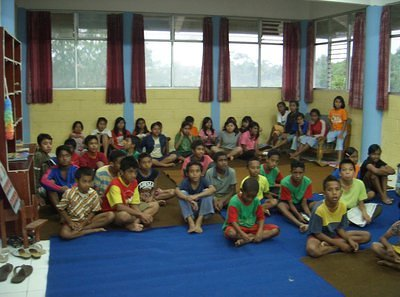 Kids to Kids from Thailand Orphans to Indonesian Children
