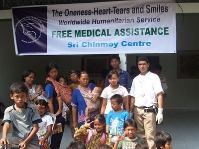 The Oneness Heart Tears and Smiles, Free Medical Assistance to the victims of earthquake