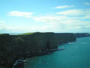 the beautiful cliffs of moher