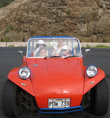 Dune Buggy Drive Around Oahu!