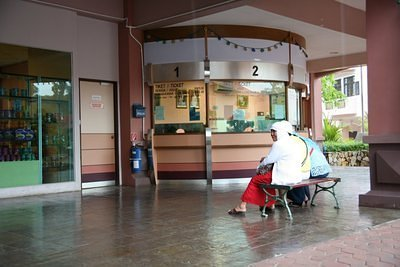 Cable car ticket office, Langkawi