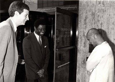 1982-04-apr-27-ASG-J-Jonah-greets-CKG-church-center-for-UN-global-perspective-religious-life