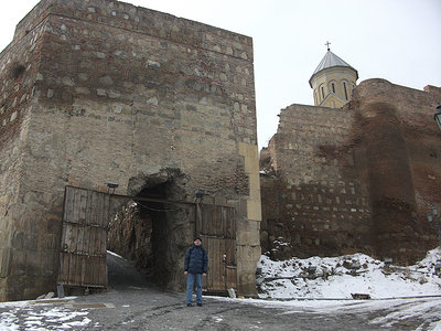 Narikala the Old fortress and church