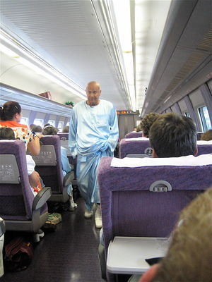 Sri Chinmoy composed his 13,000th Bengali song during this rail trip.
