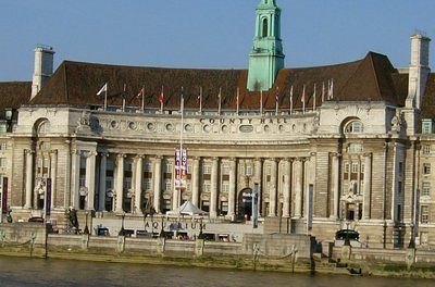 The County Hall and the Aquarium