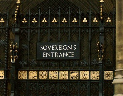 The House of Lords: Sovereign's Entrance!