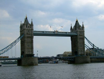 The Tower Bridge - up front