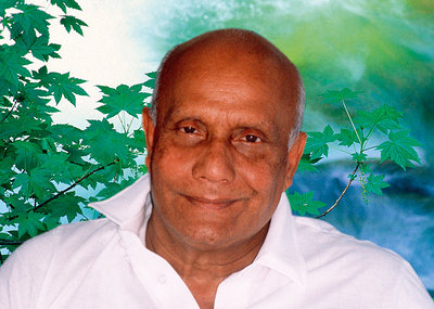 The Song of Beauty: art based on photos of Sri Chinmoy