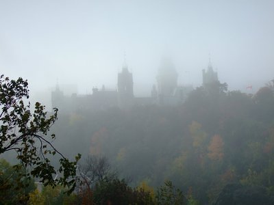 Parliament in the fog 2