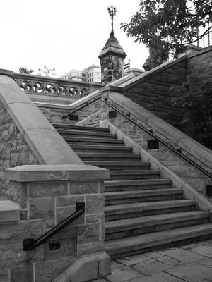 Stairs to the Parliamant Hill