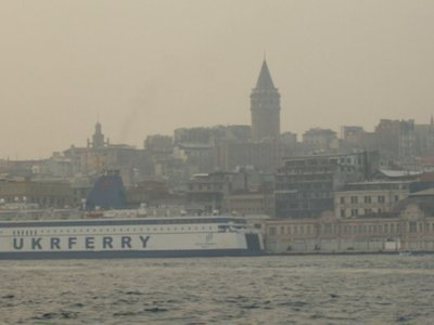 view of the old city and the Galata Tower