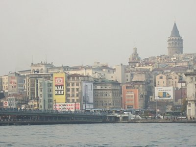 Karakoy district and the Galata Tower