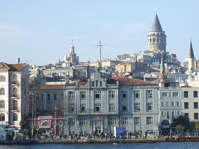 Waterfront and the Galata Tower