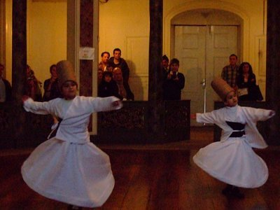 The young whirling dervishes