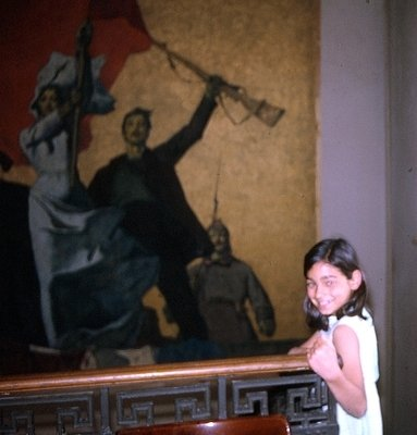 Painting symbolizes the Russian Revolution