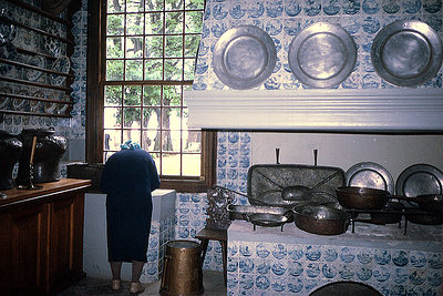 Servants' kitchen in the palace