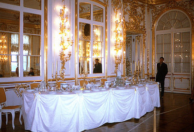 One of a few Dining Rooms in Catherine the Great's Palace