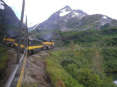 Steaming through the Mountains