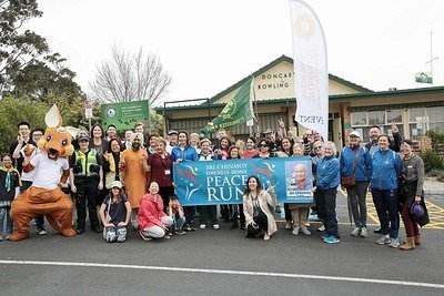 2019-09-21 Manningham Interfaith Peace Run