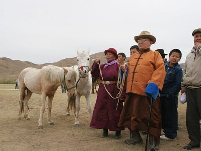 Mongolian horse owners