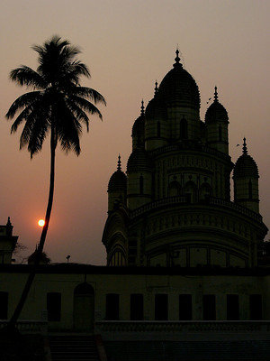 dakshineshwar at sunset