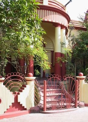 west entrance to sri ramakrishna's room