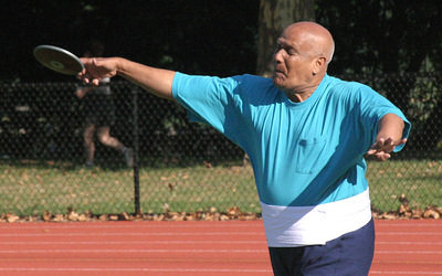 Now that is INTENSITY! At 73 I'll be lucky to lift a discus.