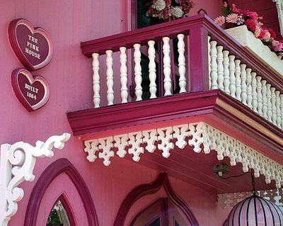 Pink House Balcony